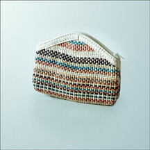 Fashionable ladies purse made of Jute