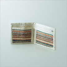 Fashionable mens wallet made of Jute