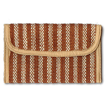 Fashionable lady's purse made of Jute