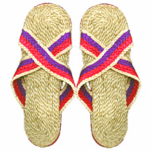 Beach Sandals made of eco-friendly jute